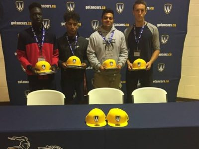 Windsor Lancers attracts four high school teammates