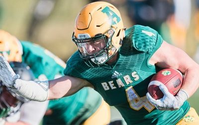 Alberta RB Ed Ilnicki is the 2017 CW FB Player of the Year.