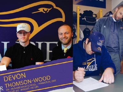 Laurier Golden Hawks coaches 'very welcoming' says commits