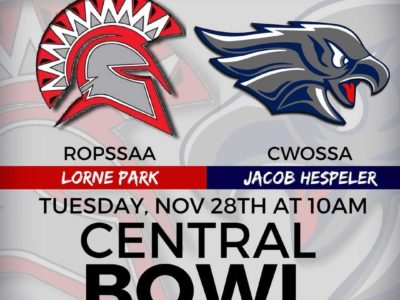 OFSAA Central Bowl [ROSTERS]: CFC50 Jacob Hespeler vs. CFC50 Lorne Park