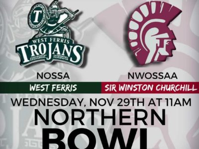 OFSAA Northern Bowl [ROSTERS]: CFC50 West Ferris vs. Sir Winston Churchill