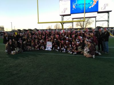 OFSAA game VIDEO (Simcoe Bowl): CFC50 Huron Heights vs. CFC50 St. Matthew's