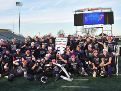 OFSAA game VIDEO (Eastern Bowl): CFC50 Holy Trinity vs. Crestwood
