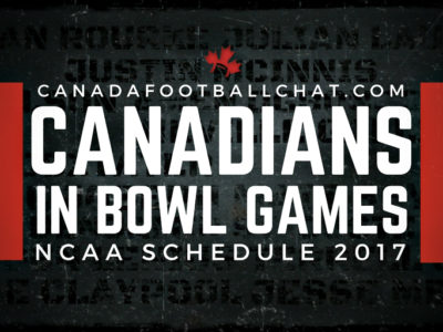 NCAA 2017 Bowl Schedule: Nathan Rourke, Julian Laurent, Neville Gallimore and Chase Claypool highlight 25 Canadians