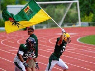 CFC100 LB White's preference is to play in home province at next level