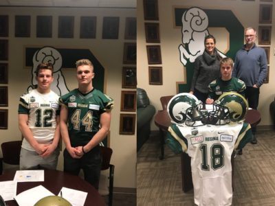 Hometown talent, including CFC100, staying in Regina