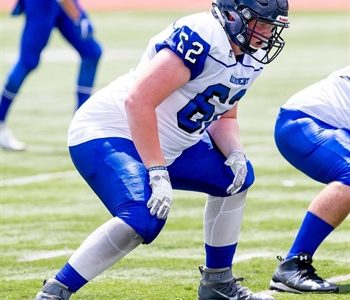 FPC Profile: OL Weller finds peace on the gridiron