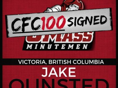 NCAA Signing Day 2018: Ounsted joins the Minutemen Canadian Brigade