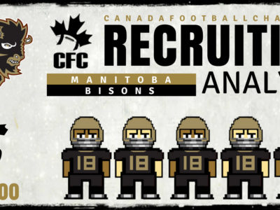 U Sports Recruiting Analysis (CanWest): Bisons busy with five CFC100s