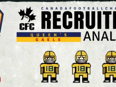 U Sports Recruiting Analysis (OUA): Queen's add three quality CFC100