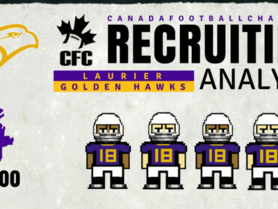U Sports Recruiting Analysis (OUA): Laurier add four explosive CFC100s
