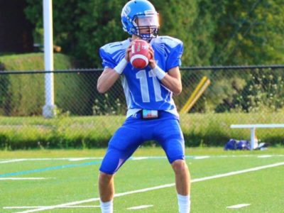 CFC100 QB Christian Veilleux decides on prep ball in New York