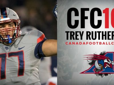 20 CFC100s drafted in first CFL eligible draft for CFC100 players (LIST)