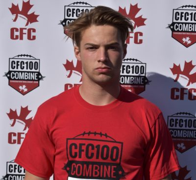 Combine Update: CFC100 Hoey ready for the senior spotlight