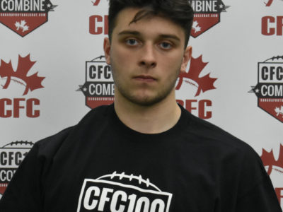 CFC100 OL Stevens reveals NCAA commitment