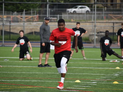 CFC100 2019: ATH Severy plays all over the field with speed and determination