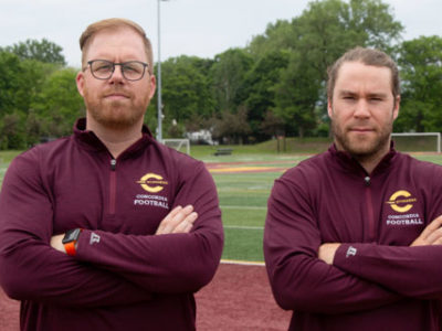 BRAD COLLINSON AND GUILLAUME BOURASSA REUNITE WITH THE STINGERS.