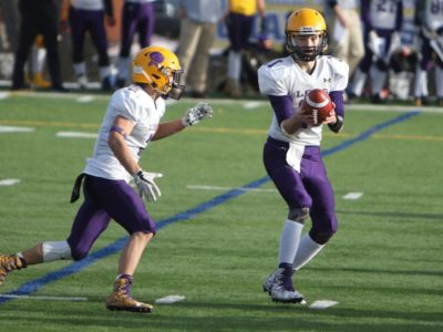 Music calms QB Amundrud