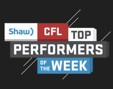 Shaw CFL Top performers (13): Reilly, Williams and Banks named