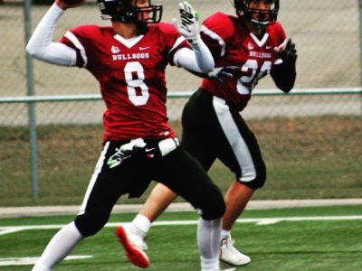 Zach Froese is a two-way player for Bulldogs