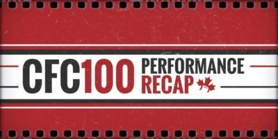 CFC100 performance RECAP (West/Atlantic) [9]: Cormier, Hetlinger rip it up before playoffs