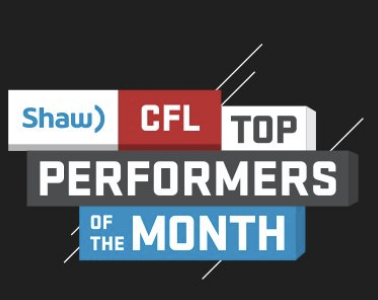 Shaw CFL top performers (JULY): Rose, Stanback, Hughes named