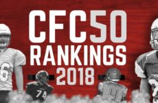CFC50 2018 High School RANKINGS (13): Alberta crowns champion with epic defensive battle, upsets in B.C semis rocks top 10