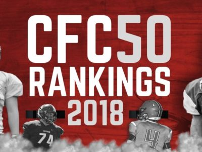 CFC50 2018 high school RANKINGS (6): 3 top 10s drop as head to heads produce thrilling victories