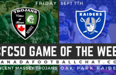 """Game Preview 2018 (MB): Oak Park Raiders look to have """"boring"""" game against CFC50 No. 21 Trojans"""