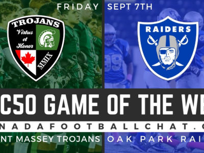 "Game Preview 2018 (MB): Oak Park Raiders look to have ""boring"" game against CFC50 No. 21 Trojans"
