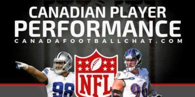 NFL Canadian Performances (15): Onyemata has another monster game