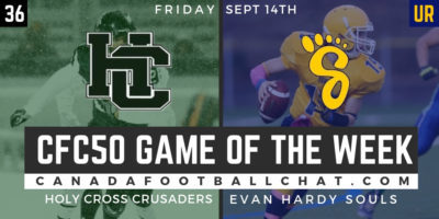 CFC50 Game of the Week (SK): Holy Cross hungry to get back to playoffs, take on the Souls