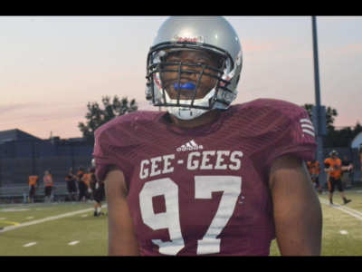 CFC100 DT Namwisi enjoys being the first line of defense