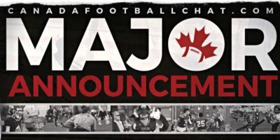 CFC Major Announcement this Friday LIVE on TSN