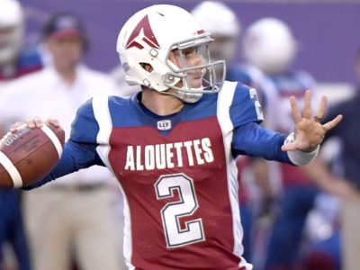 Why was Johnny Manziel kicked out of the CFL?