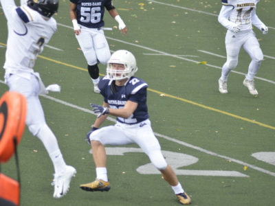 DB Lamarche is disciplined on and off the field