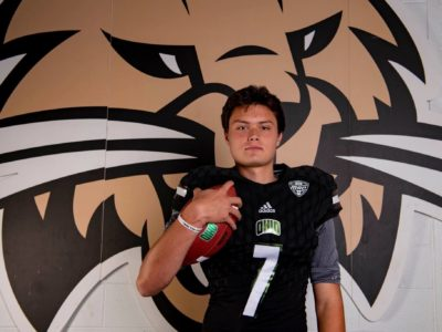 CFC100 Kurtis Rourke takes official visit in Athens