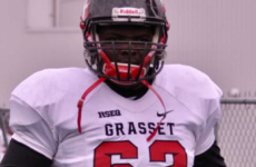 CFC60 OT Moustapha Fall thankful he didn't give up on football