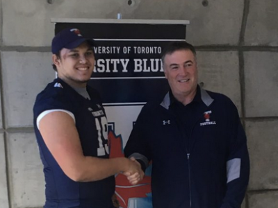 Varsity Blues' commit ready to learn from coaches