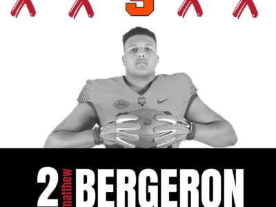Syracuse sign CFC60 Matthew Bergeron