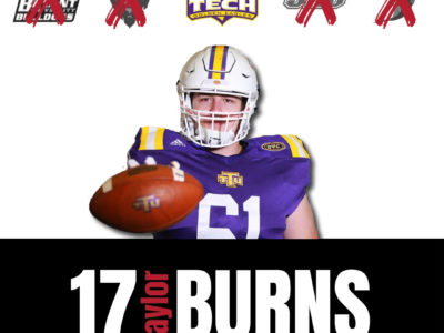 Tennessee Tech sign second CFC100 Taylor Burns