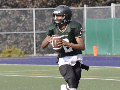 QB Wesley Tshimanga hasn't let tough upbringing define him