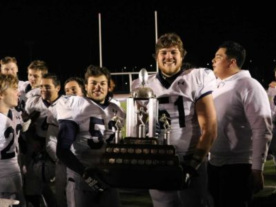 CFC200 OL Larocque ready to ride with the Lancers