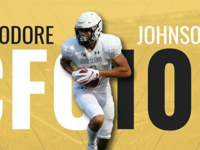 Big Ten program offers CFC100 Theo Johnson