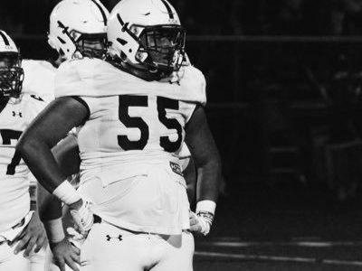 CFC100 OL Deondre Doiron garnering plenty of interest south of the border