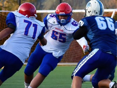 CFC100 DE Aaron Tung looking forward to competing against teams from U.S