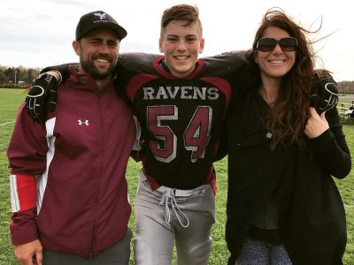 MLB Jaiden Longval loves bond football has created between him and his dad