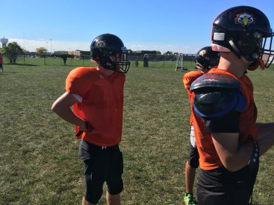 WR Brenton LeBoeuf tries to follow in brother's footsteps