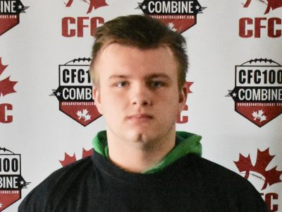 CFC100 OL Friesen ready to breakout for Team Burris