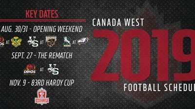 CanWest schedule released